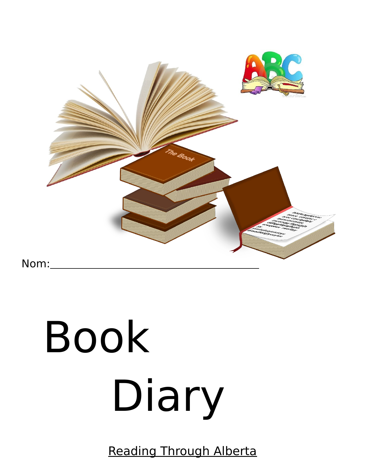 Book diary Resource Preview