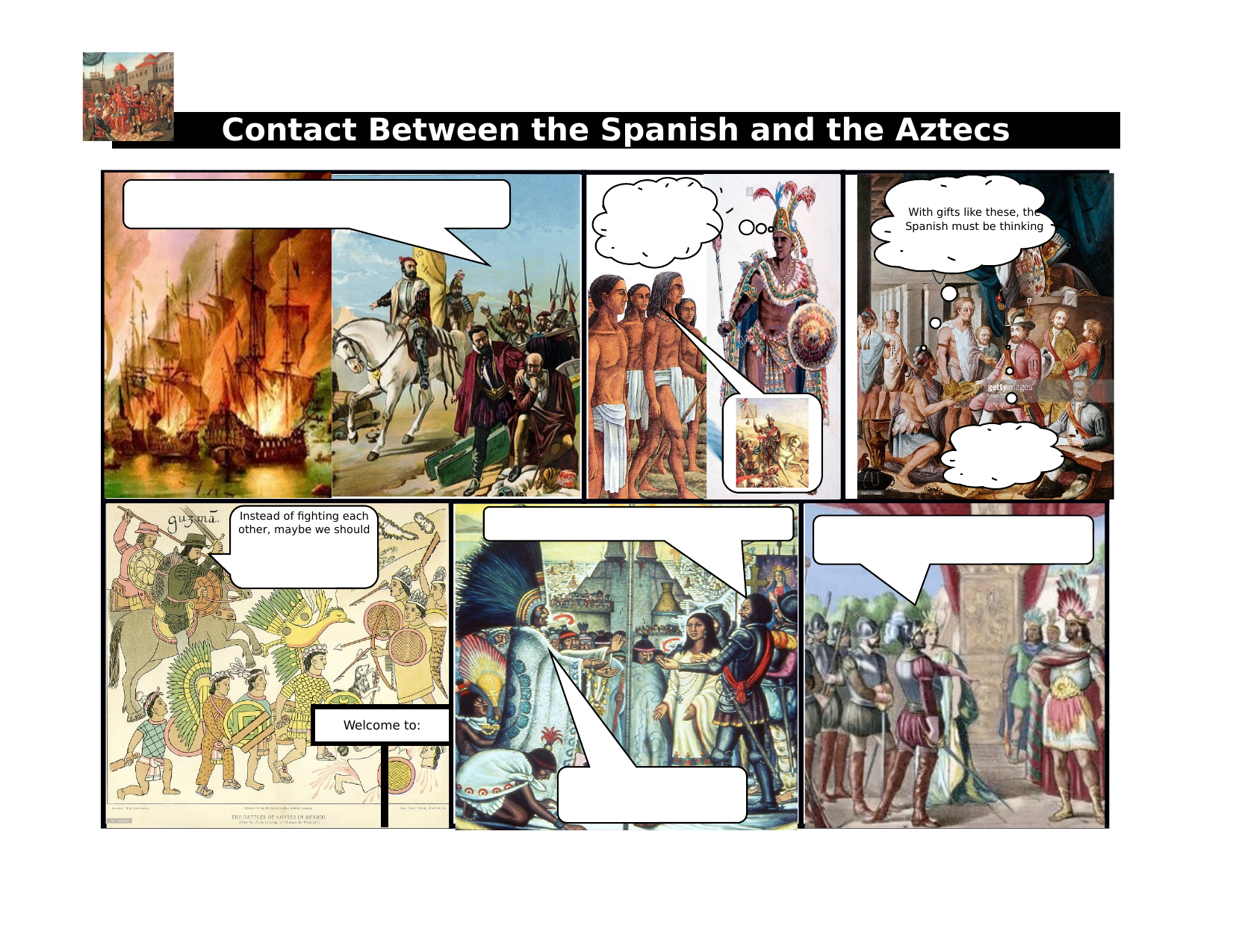 Fall of the Aztec Empire Review Comic Resource Preview