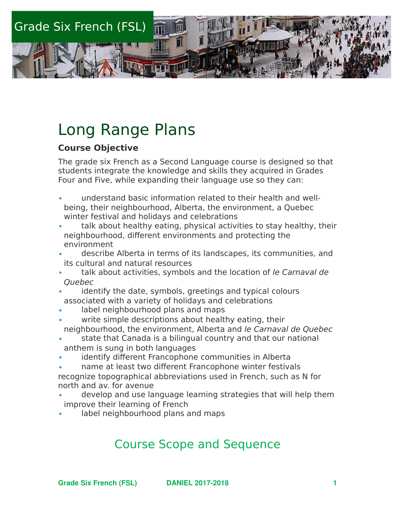 FSL 6 Long Range Plans Resource Preview
