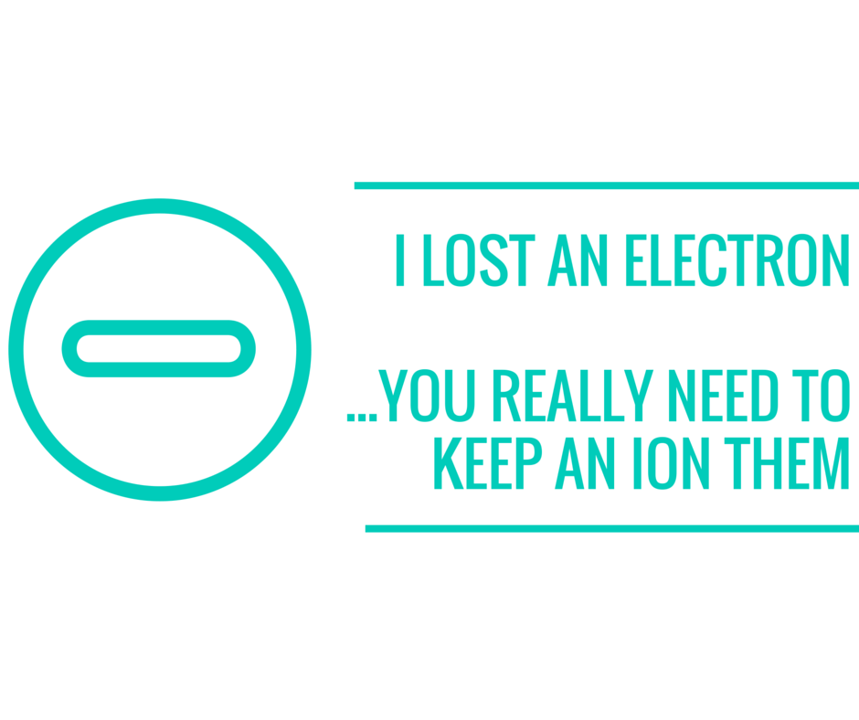 I lost an electron Resource Preview