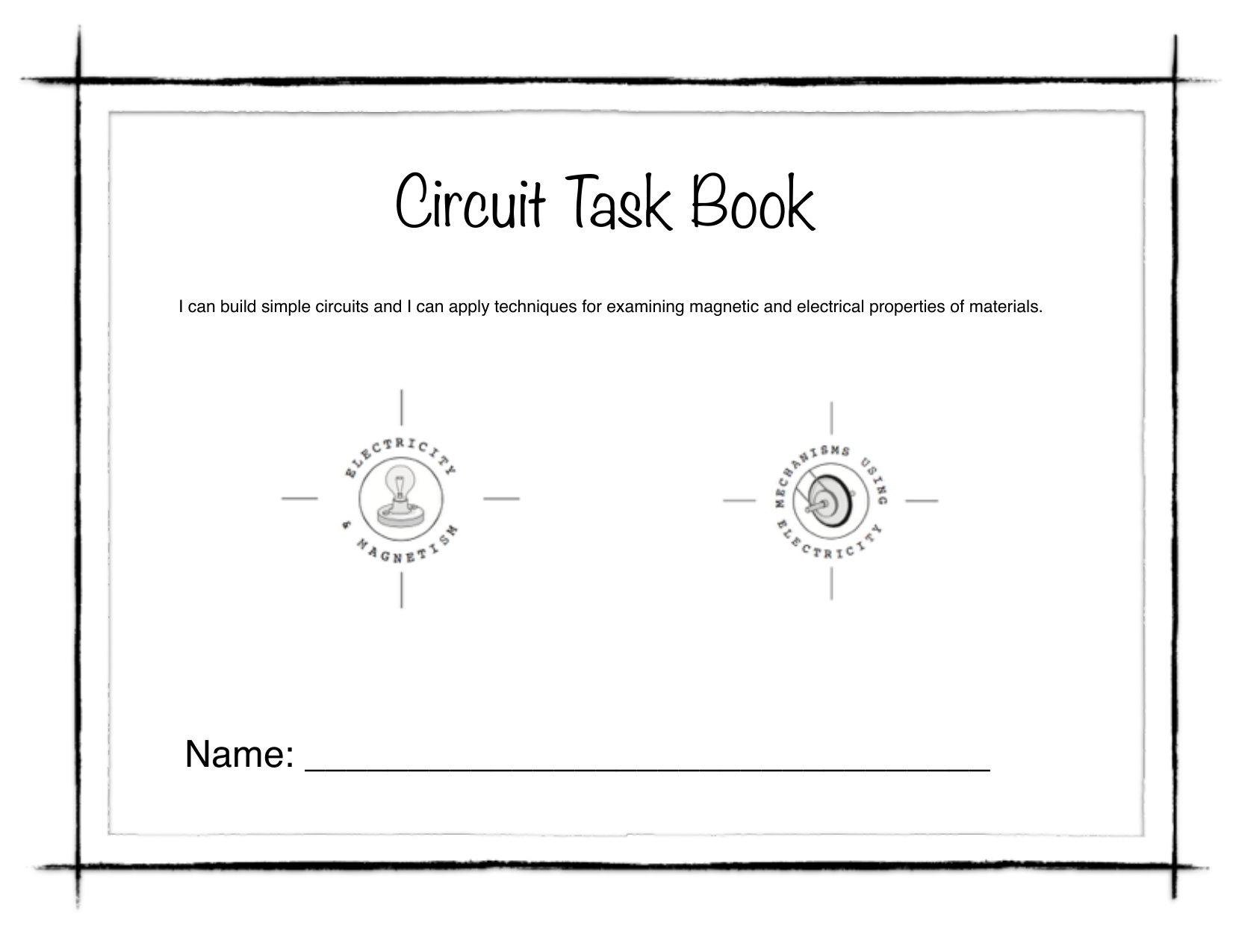 Circuit Task Book Resource Preview