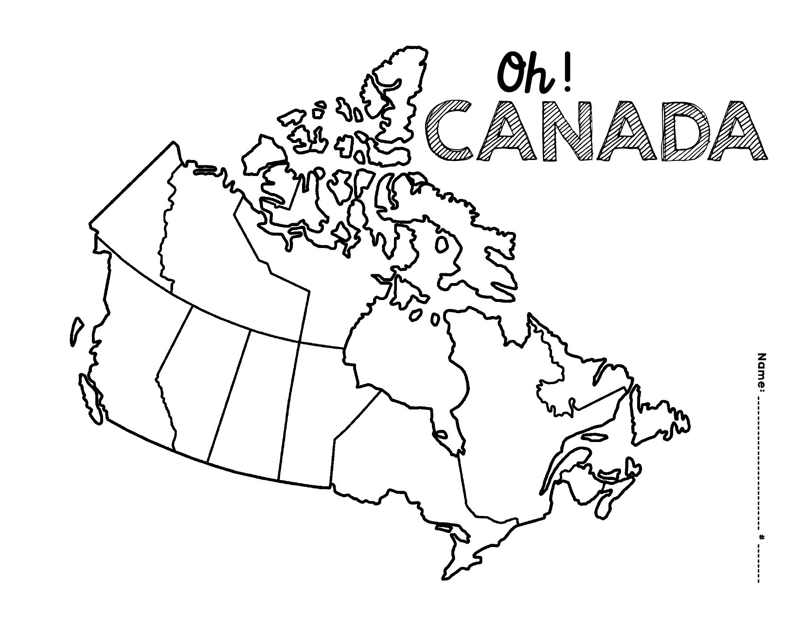 Map Of Canada With City Names.Map Of Canada And Capital Cities By Mikao Ninja Plans