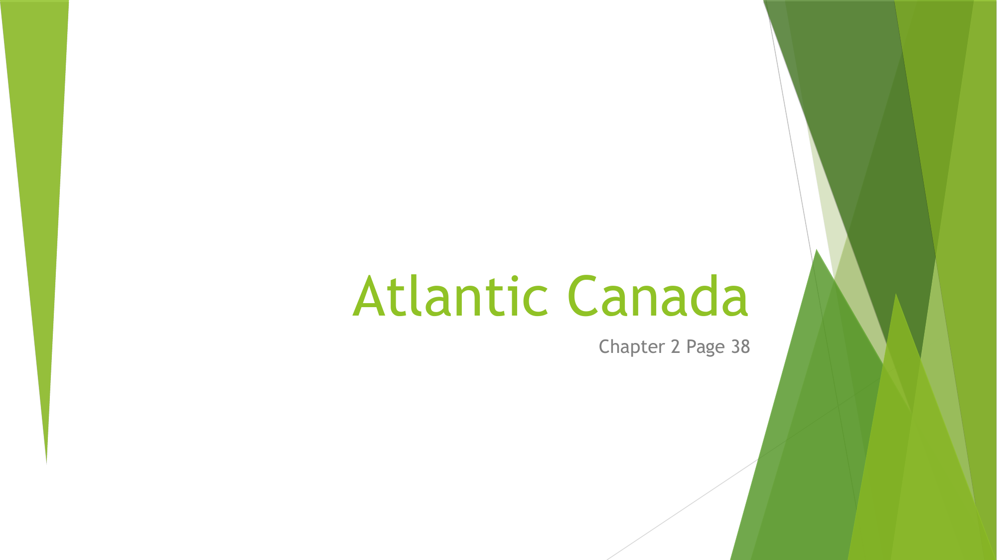 Regions of Canada the Atlantic Grade 5 pt 1 Resource Preview