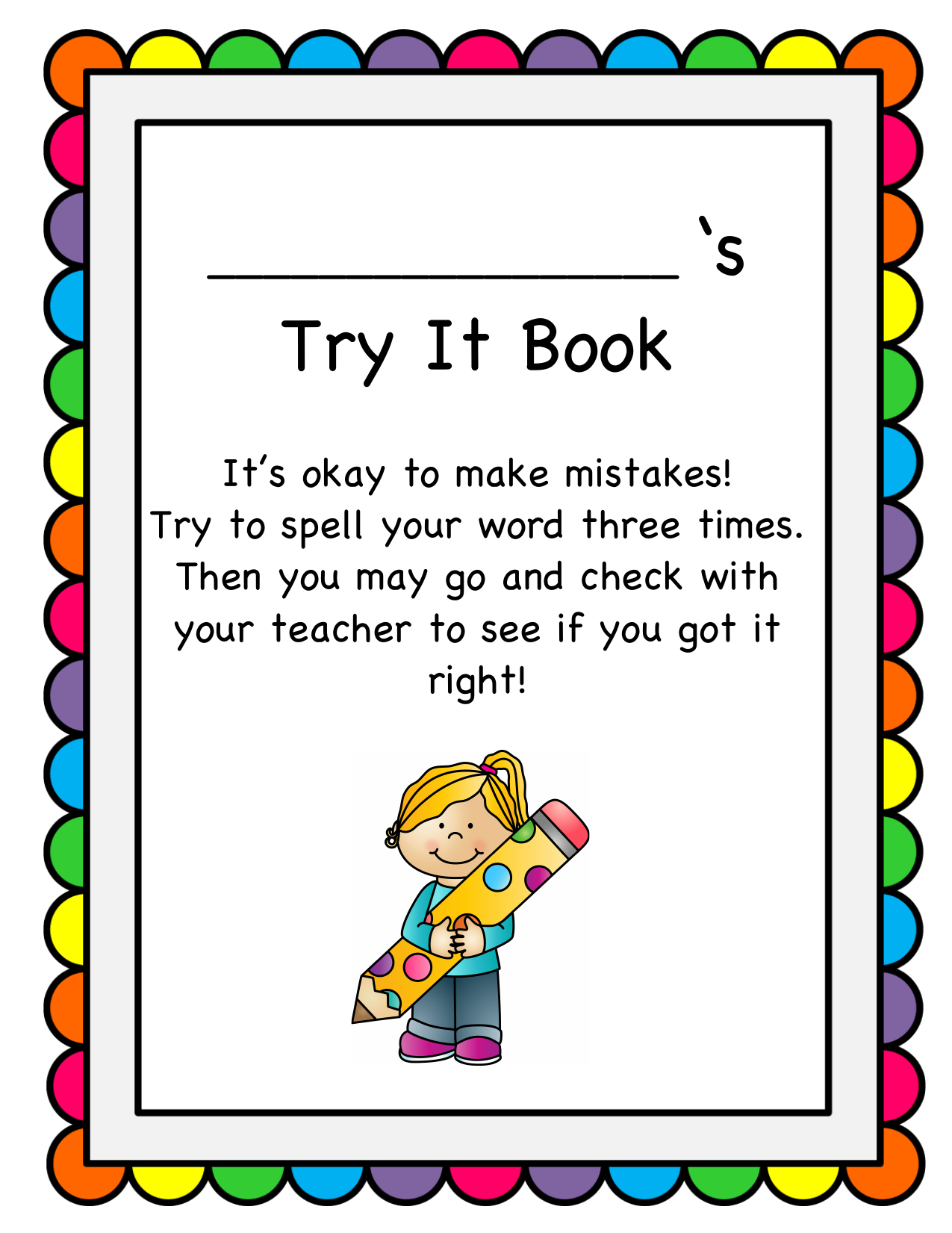 Try It Book Resource Preview