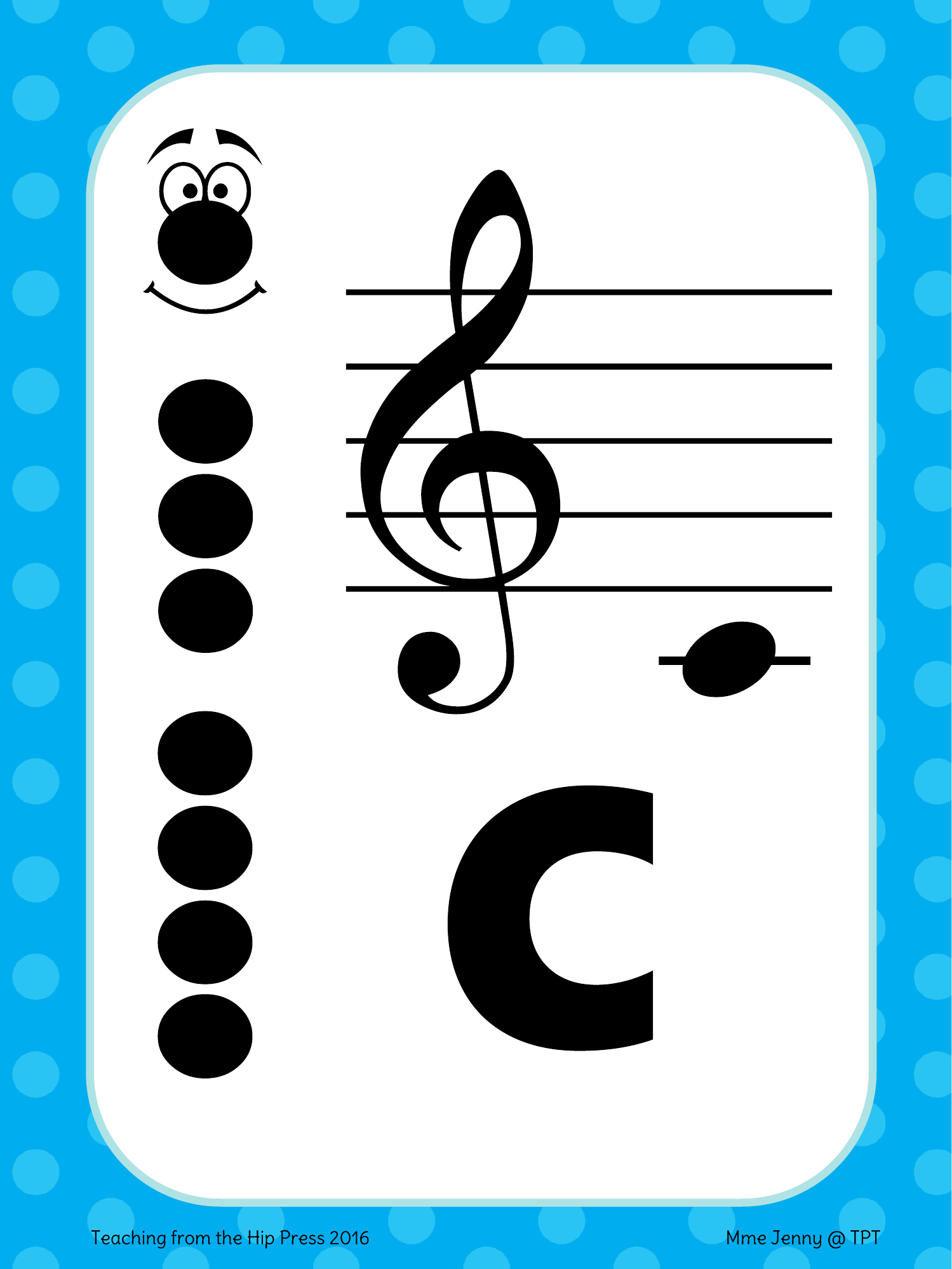 Soprano Recorder Fingering Posters Resource Preview
