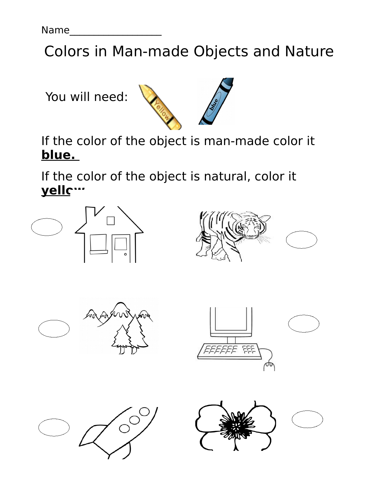 Colors Man made and natural Resource Preview