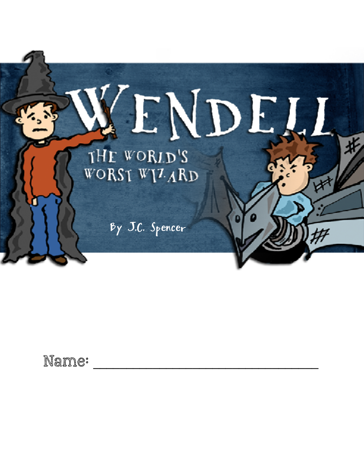 Reading response questions for Wendell the Worlds Worst Wizard  Resource Preview