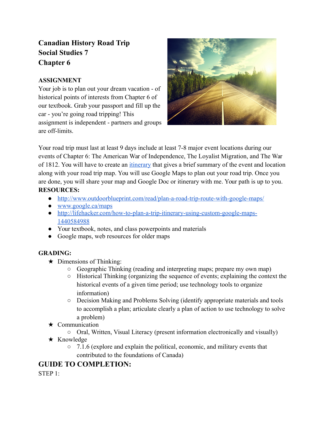 descriptive essay road trip Descriptive essay about my bedroom, road trip creative writing, help creative writing i once started an llm criminology essay with yeats' the second coming in.