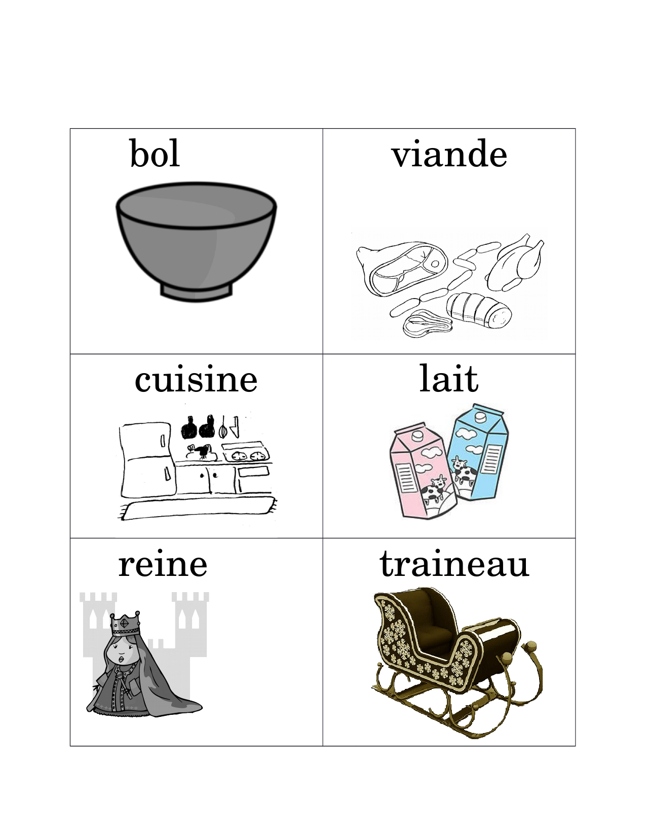 Vocabulary cards Resource Preview