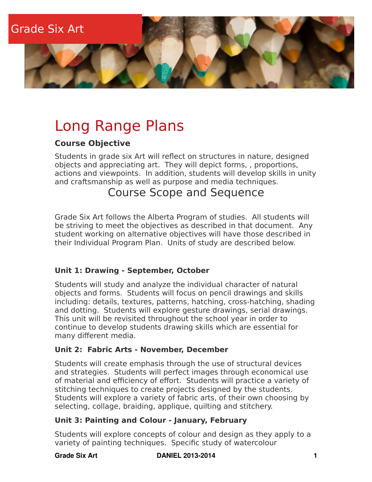 Art 6 Long Range Plans Resource Preview