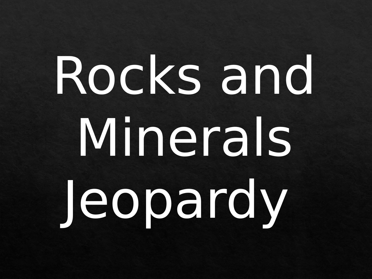 Rock and Mineral Reivew Resource Preview