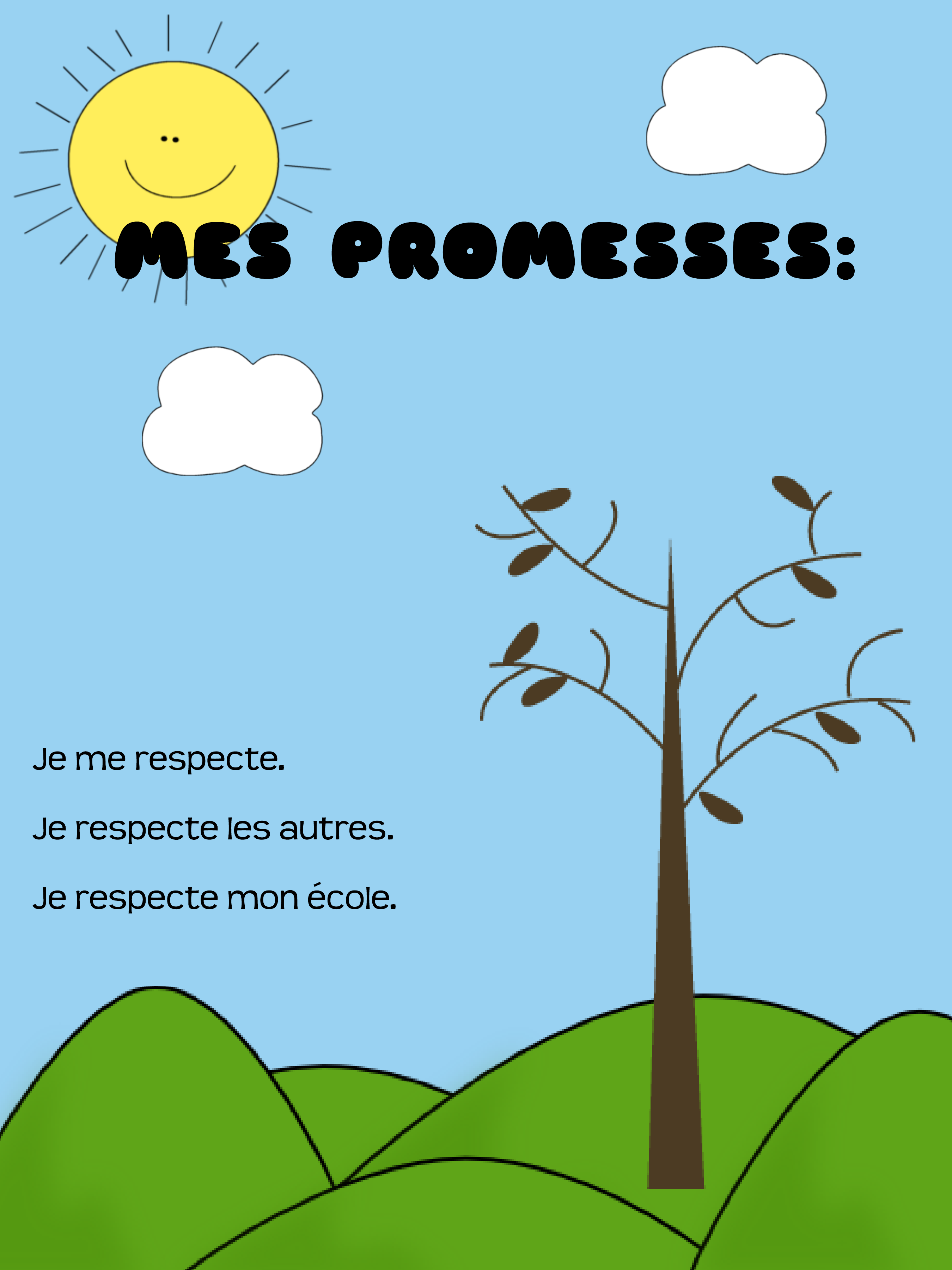 Mes Promesses Poster Resource Preview