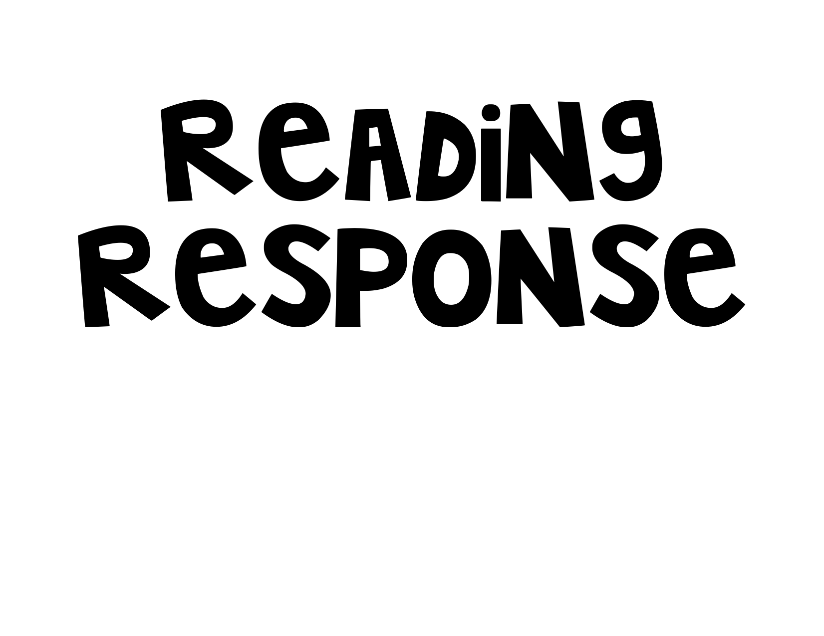 Reading Response Posters Resource Preview