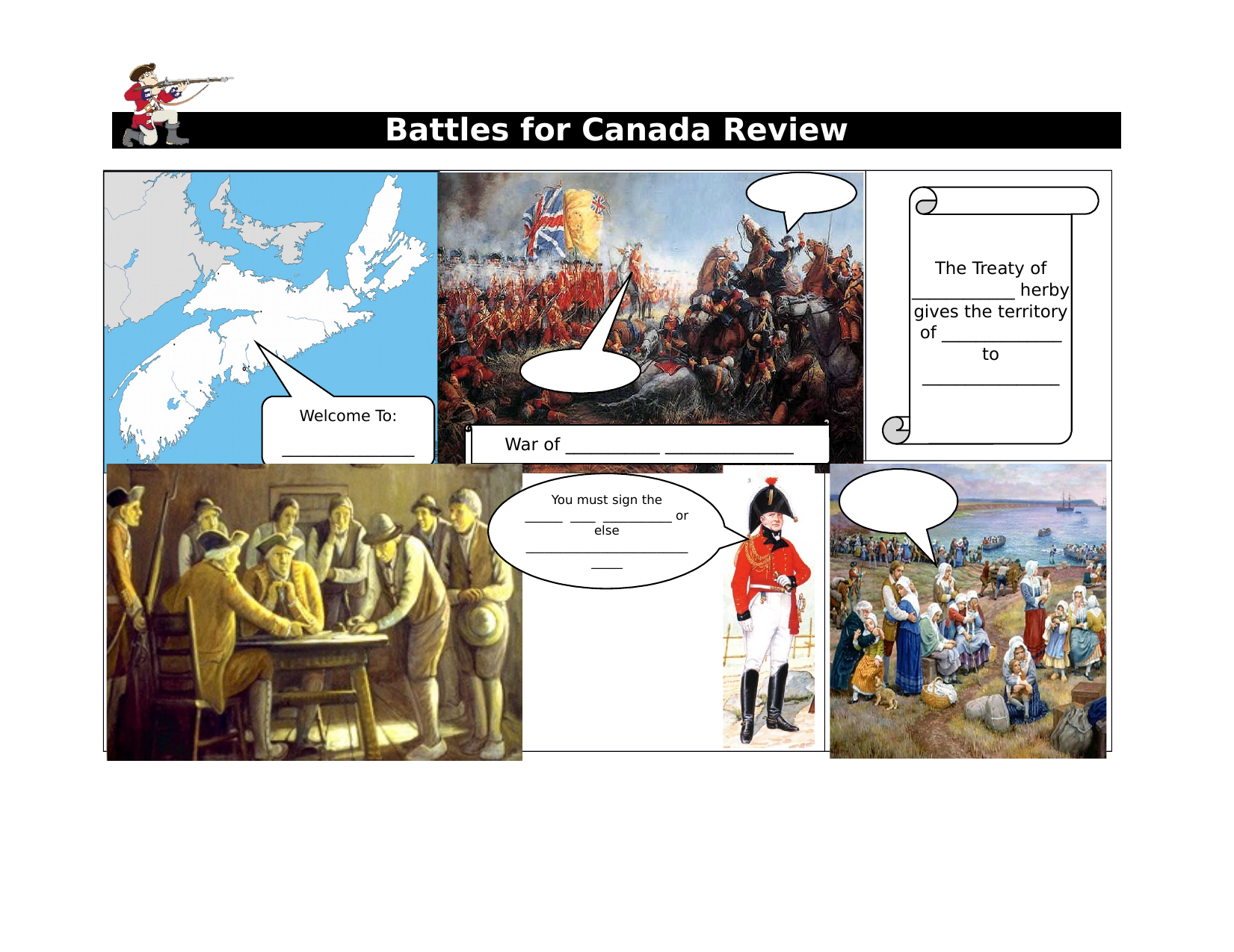 Battles for Canada Review Comic Resource Preview