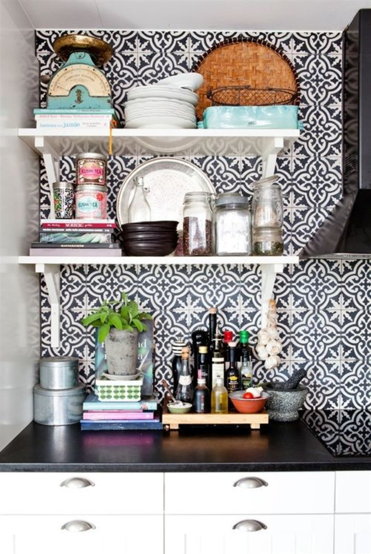 Moroccan Style Kitchen Tiles