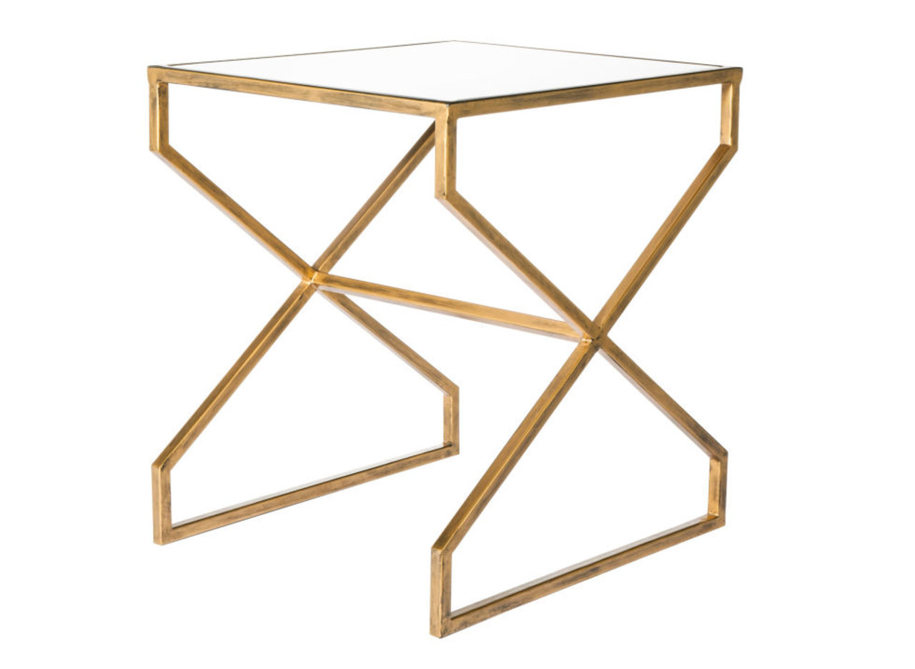 three ways to style this chic modern accent table  the accent™ - three ways to style this chic modern accent table