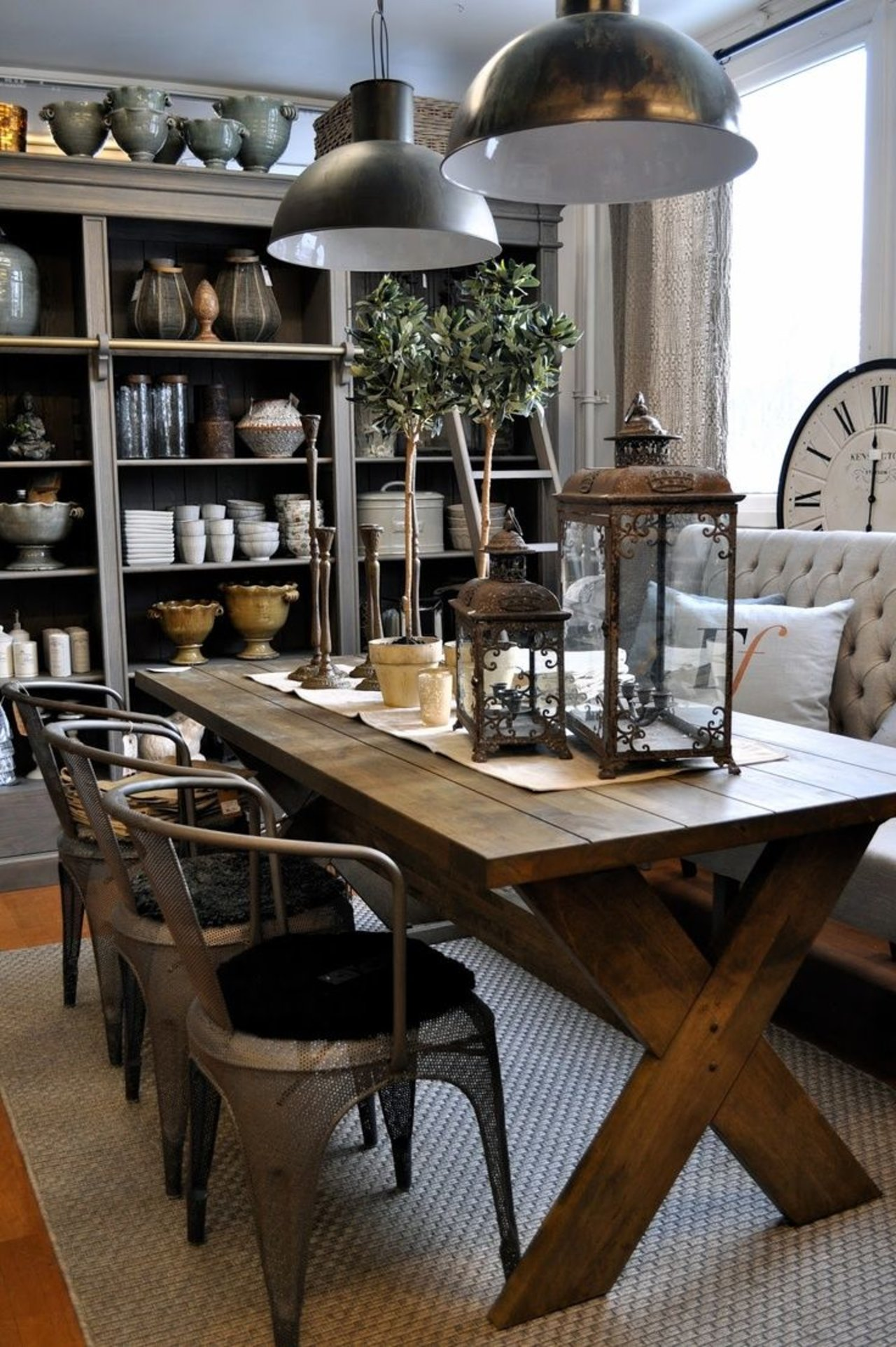 Real/Deal/Steal: An Elegant, Rustic Dining Room