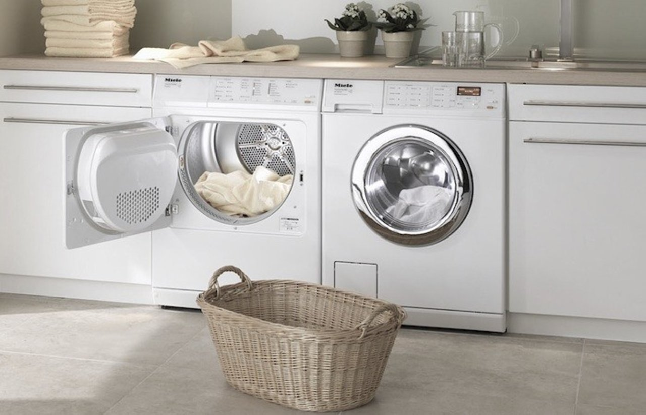 Compact stackable washer dryer french provincial kitchens small corner - 5 Simple Ways To Save Water Around The House