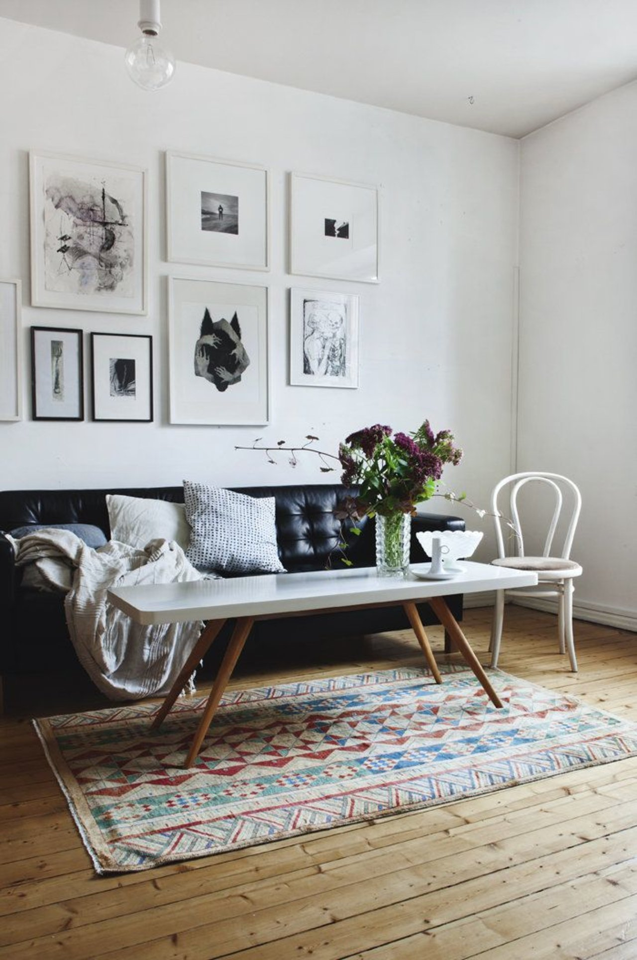 Real/Deal/Steal: An Understated Living Room With A Boho Touch