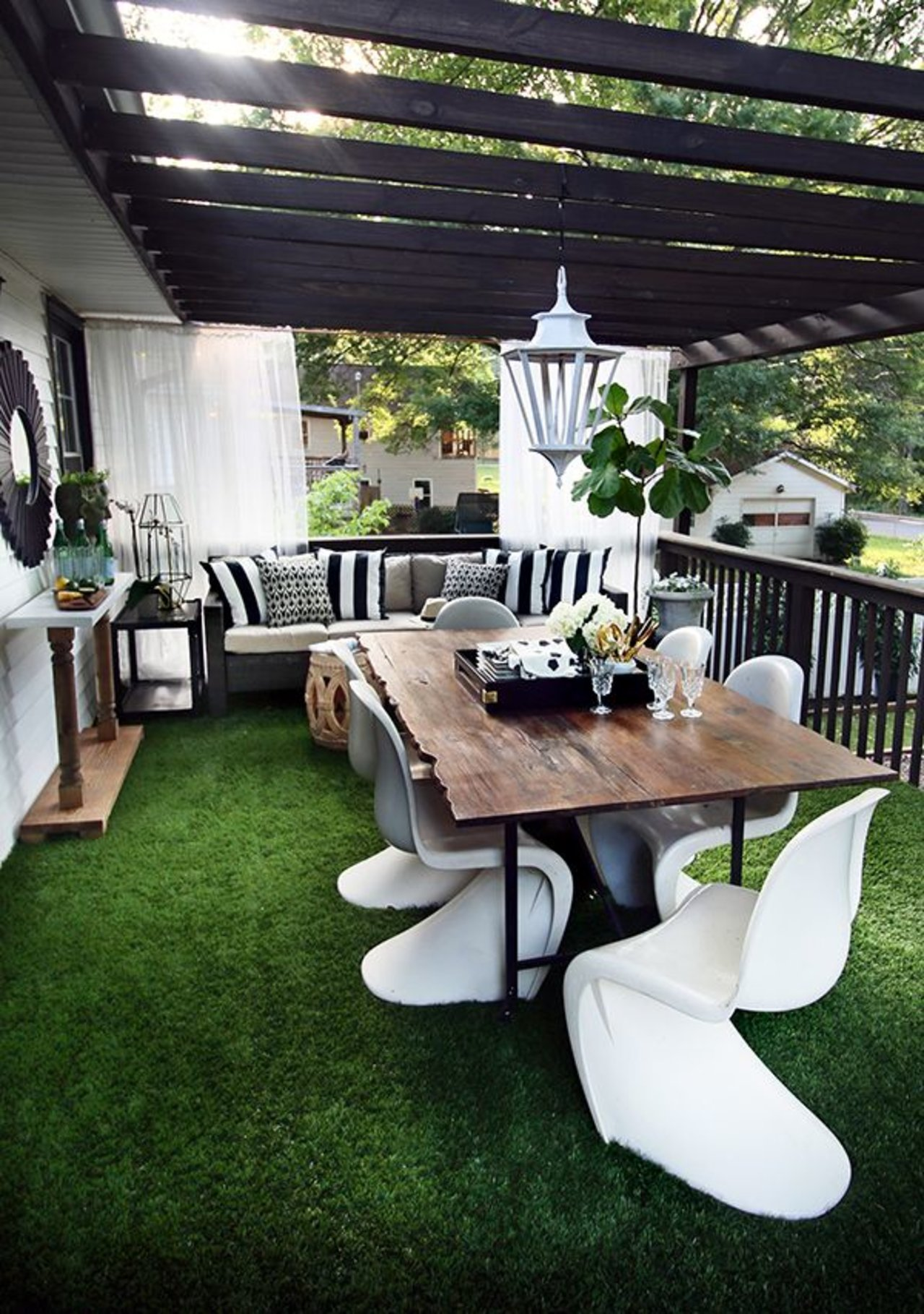 One Room Three Looks A Classy Modern Outdoor Living