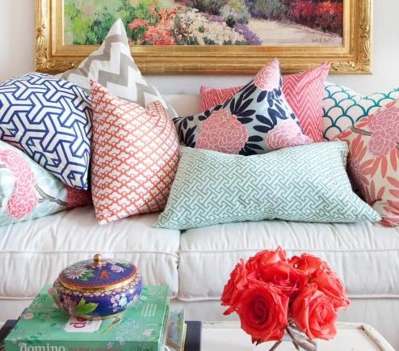 Throw Pillow Method Space Faerie : This Formula for Combining Throw Pillows Is Foolproof - The Accent