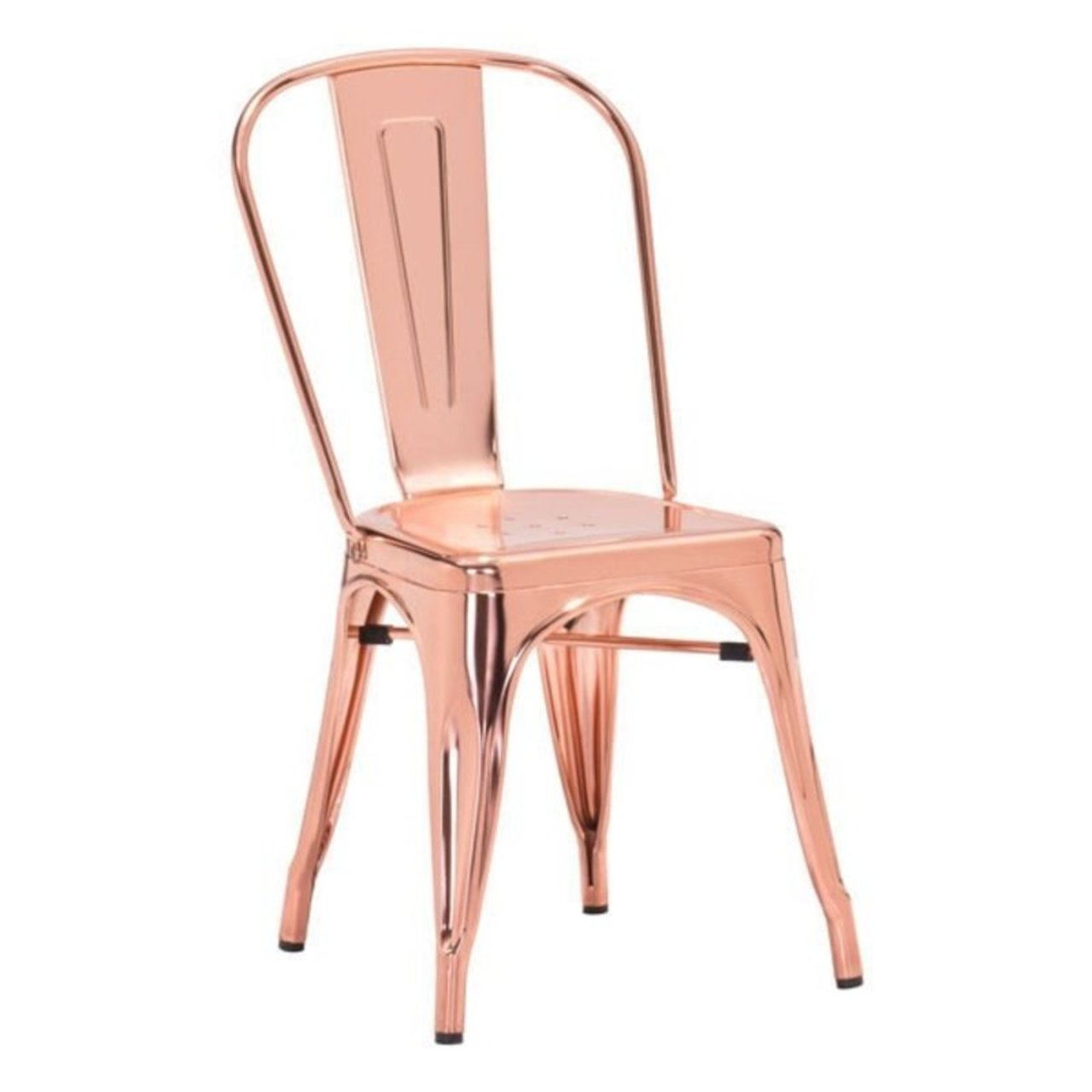 three ways to style a covetable rose gold dining chair
