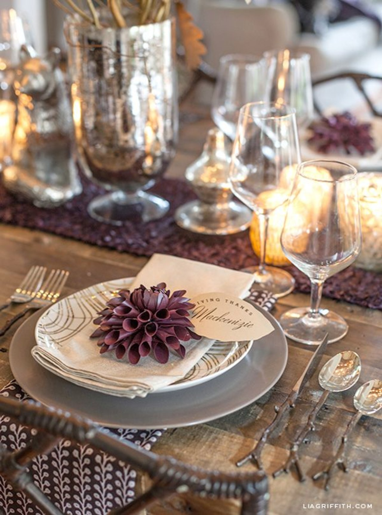 Thanksgiving tablescapes to whet your appetite the