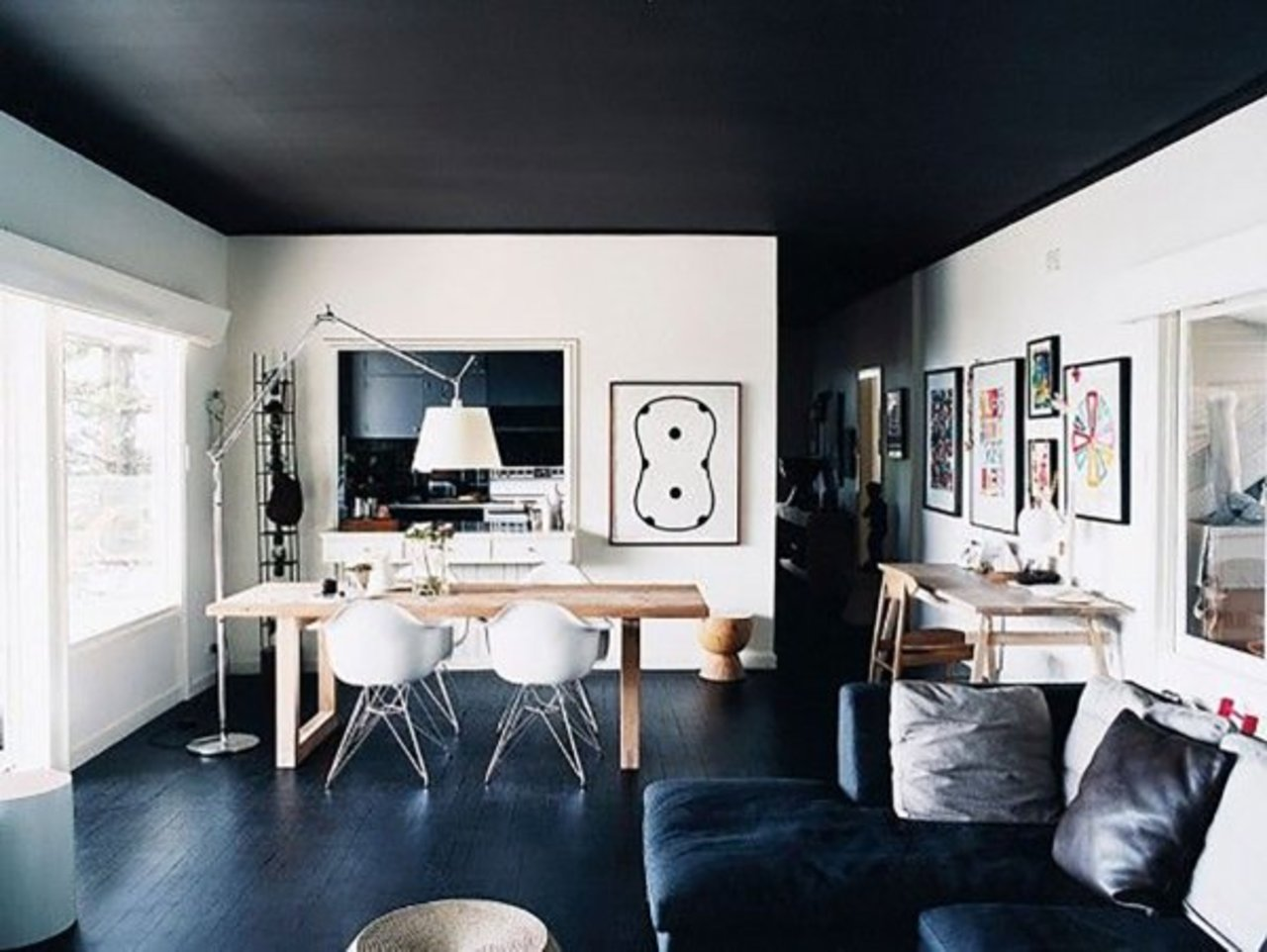 here 39 s why you should paint your ceiling black the accent