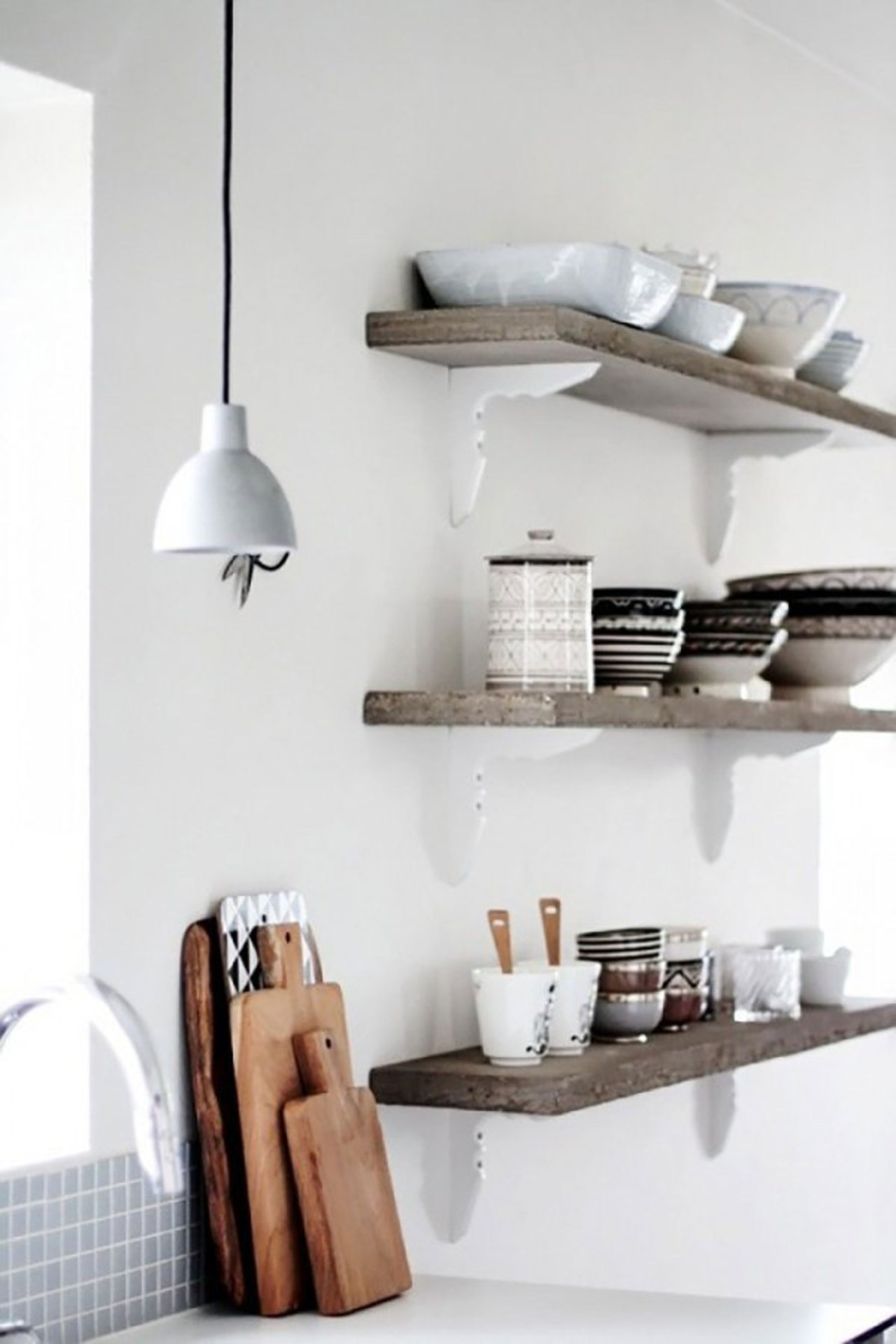 Open Kitchen Shelving The Accent™