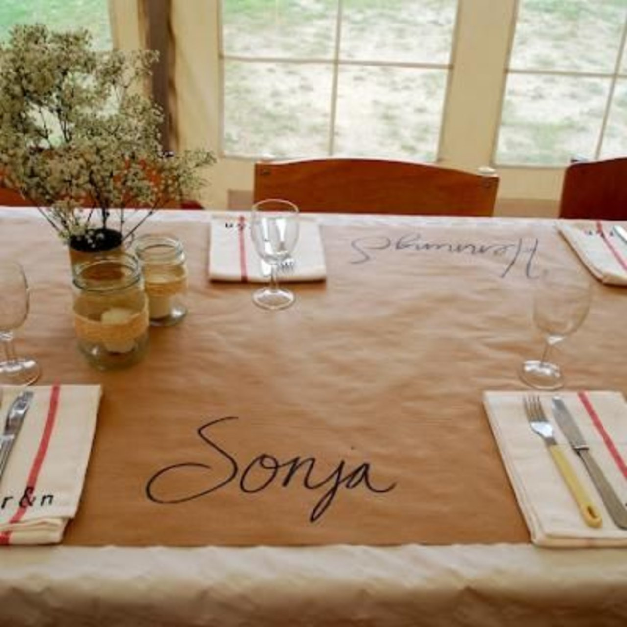 elevate your dinner party with one of these diy place card ideas