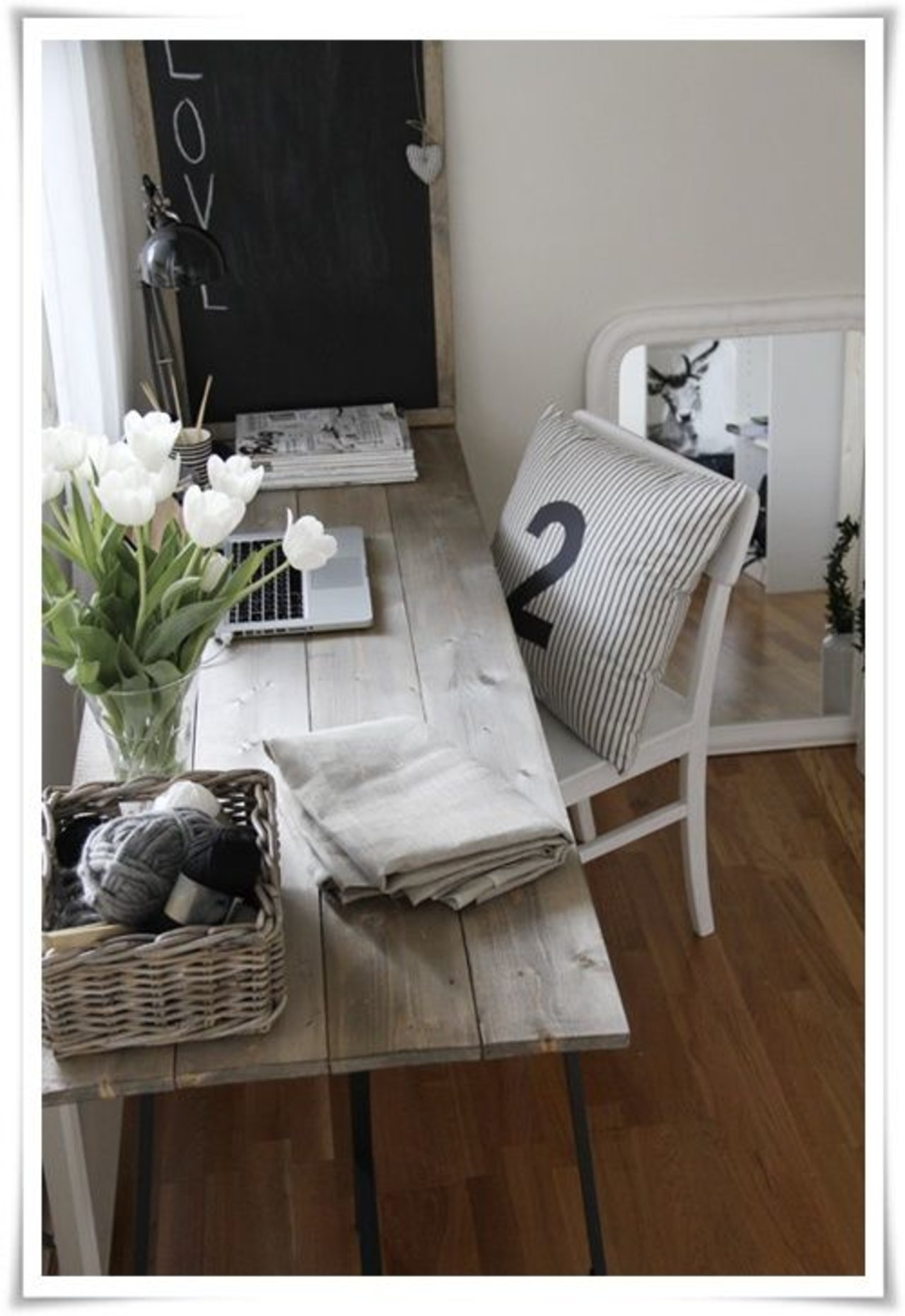 stylish home office desk