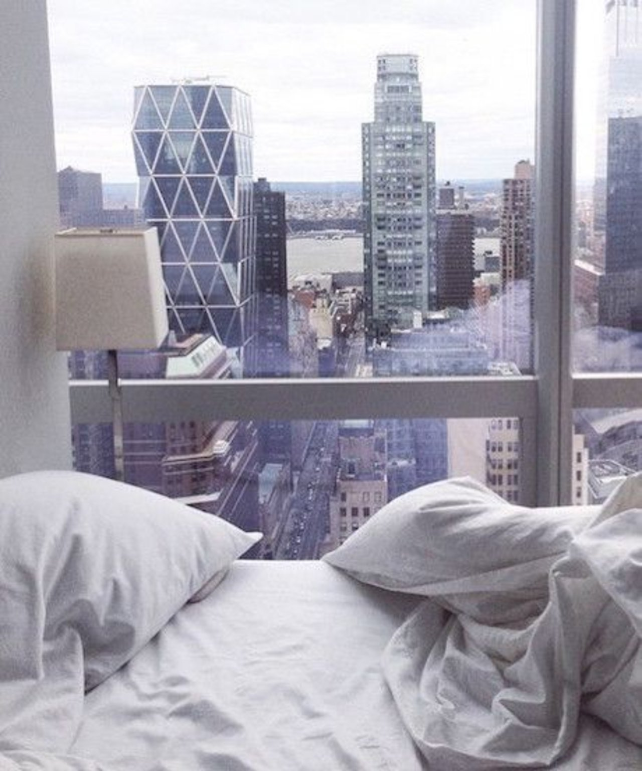 10 beds we 39 d like to sleep in the accent for Nyc apartment bedroom ideas