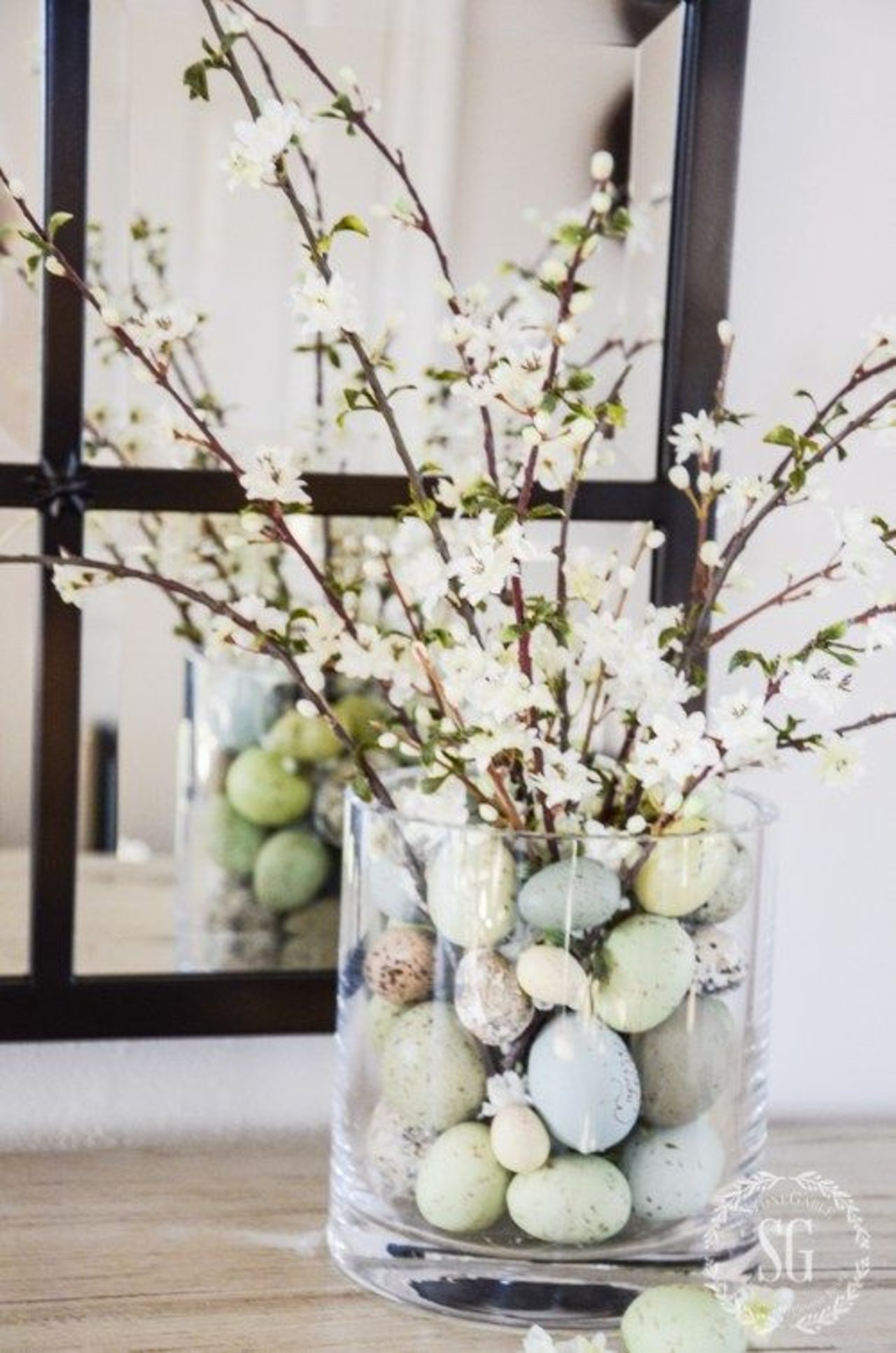 8 bunny free easter tablescapes the accent Images for easter decorations