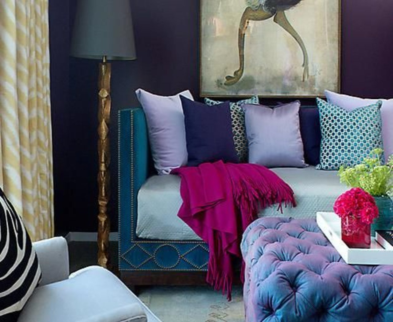5 ideas for decorating with jewel tones this season the style4 decor