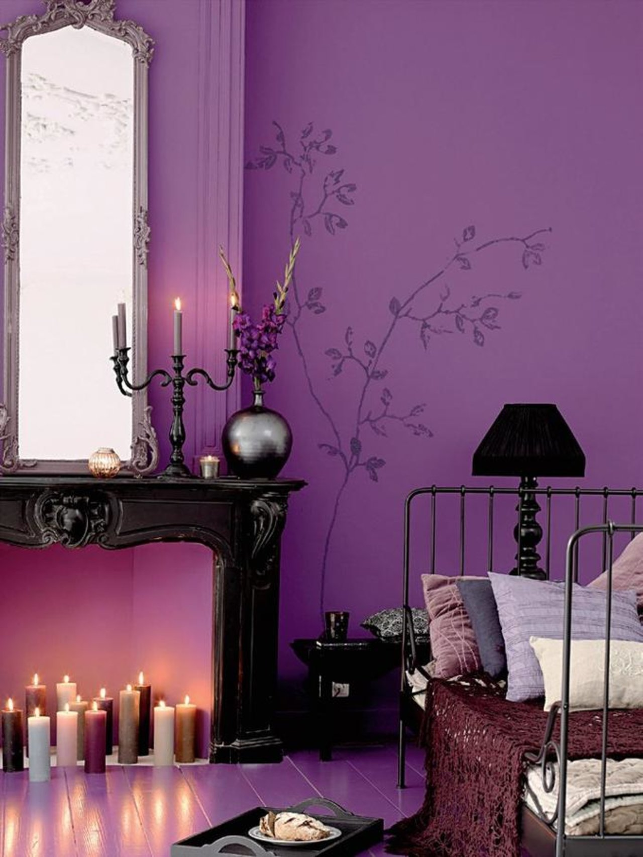 Purple Decorating Living Rooms Lets Take A Minute To Celebrate Prince With A Roundup Of Purple