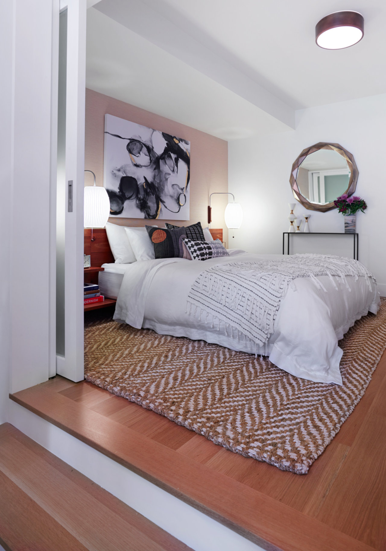 Before after a clean modern guest bedroom the accent Design your bedroom from scratch