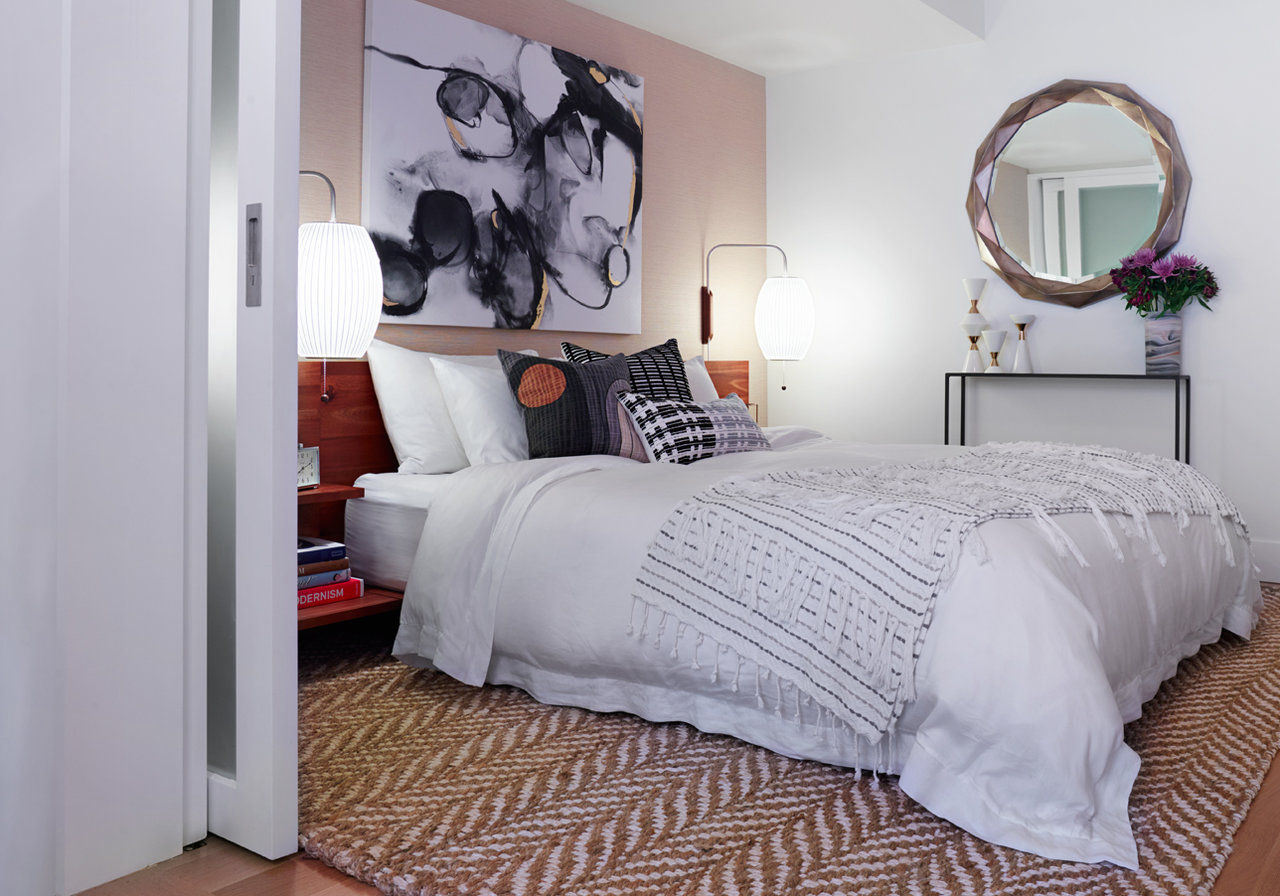 Before & After: A Clean & Modern Guest Bedroom - The Accent™