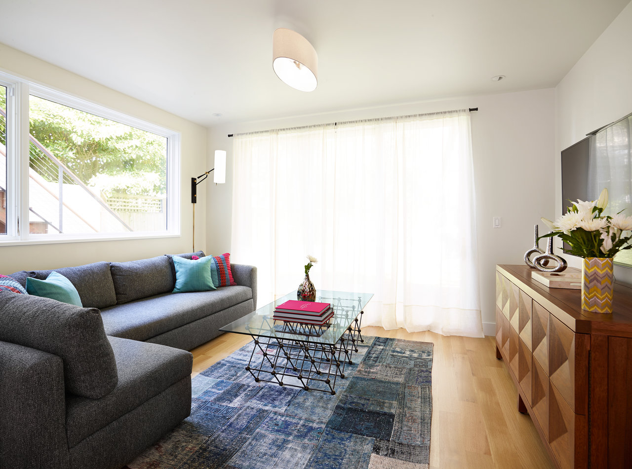 Before & After: This Family Room Is As Stylish As It Is Functional ...