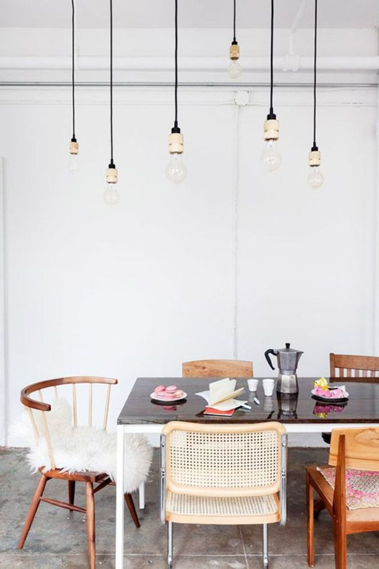 mismatched dining room chairs sfgirlbybay
