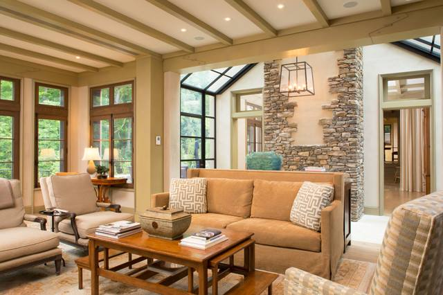 Image Via Houzz Cozy Living Room