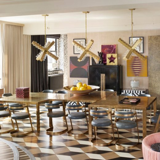 A Glam Dining Room By Kelly Wearstler