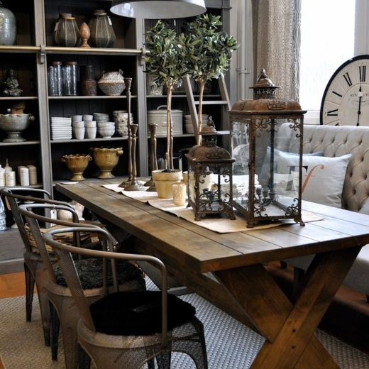 Rustic Dining   Steal