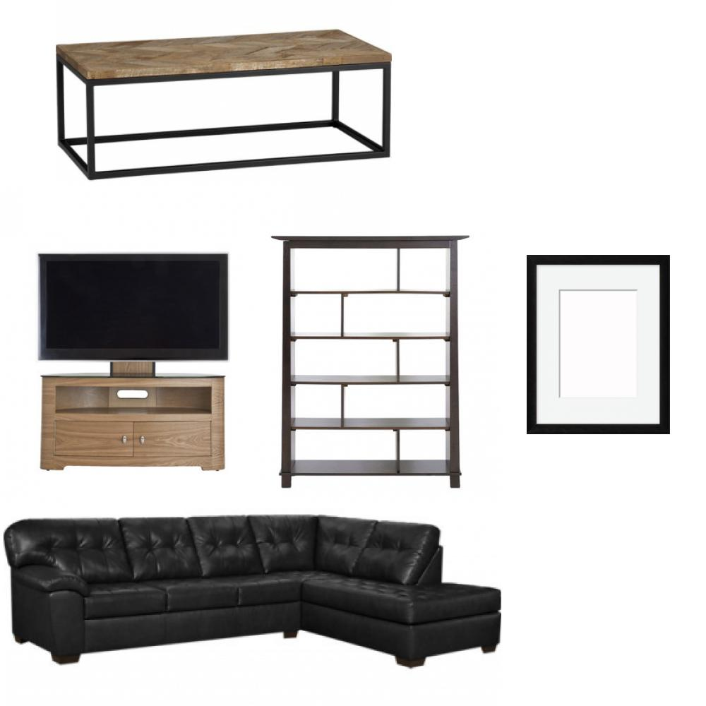 modern gentleman  sc 1 st  nousDECOR : leather blend sectional - Sectionals, Sofas & Couches