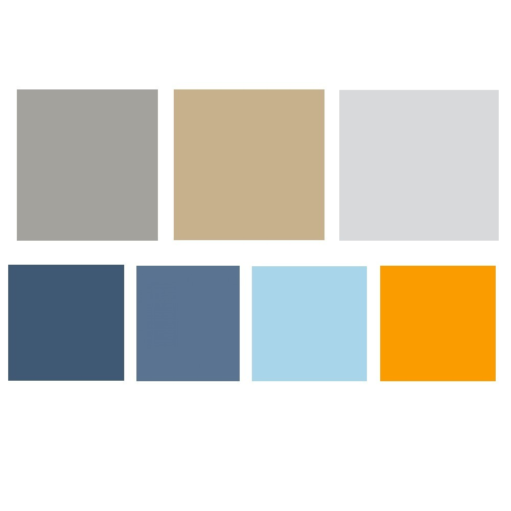 Behr interior paint color palette for Behr interior paint colors