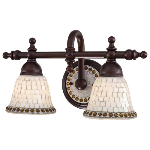 Minka Lavery 6052 143 Oil Rubbed Bronze Piastrella 2 Light Bathroom Vanity  Light From The
