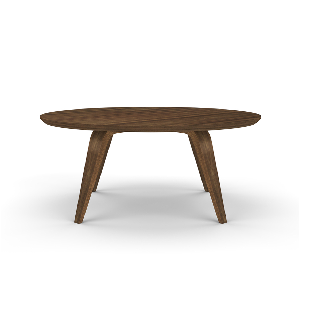 Cherner 36inch Round Coffee Table Classic Walnut Online