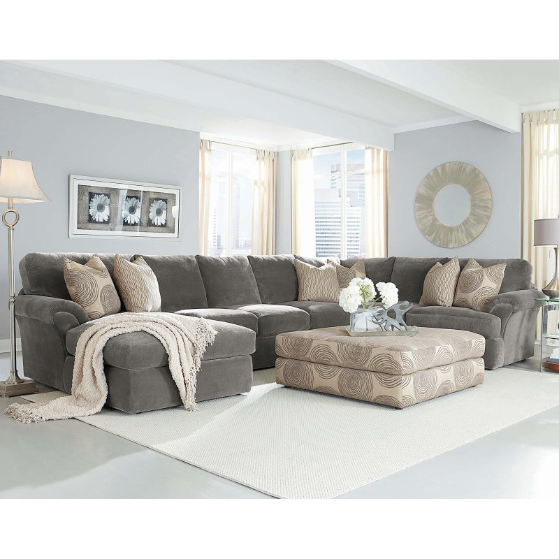 Chelsea Home Bradley 3 Piece Sectional Sofa