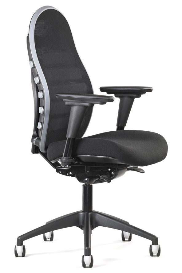 Professional Quality Office Chair W Adjustable Lumbar Support Mesh Back