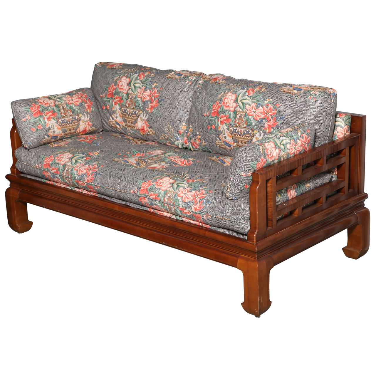 Michael taylor baker furniture asian style sofa online for Oriental sofa designs