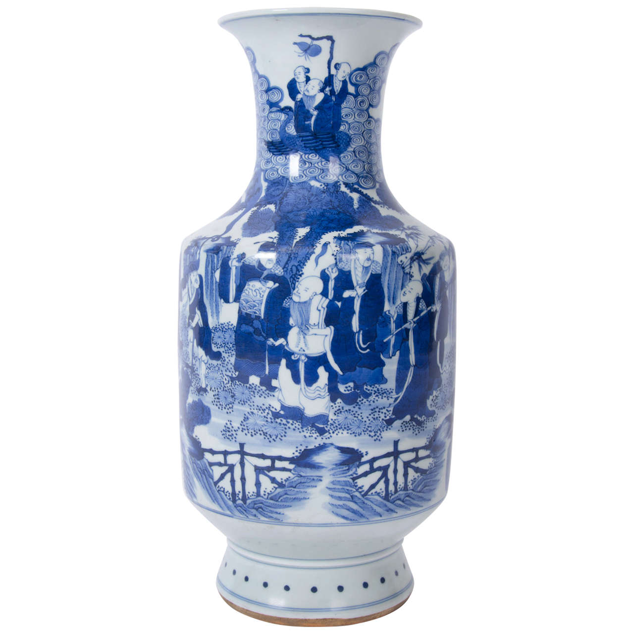 18th century chinese blue and white porcelain vase kangxi period 18th century chinese blue and white porcelain vase kangxi period reviewsmspy